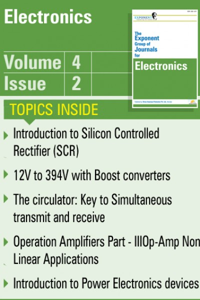 Electronics – Volume 4 – Issue 2