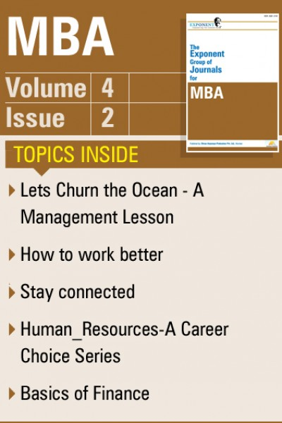 MBA – Volume 4 – Issue 2