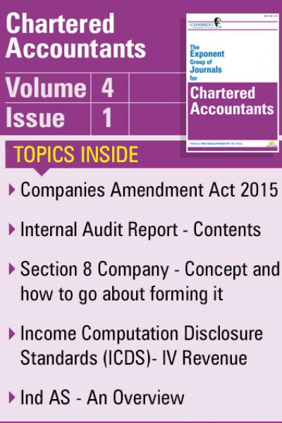 Chartered Accountants – Volume 4 – Issue 1