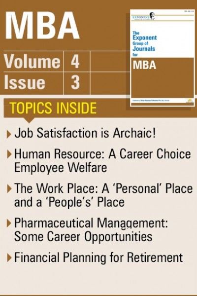 MBA – Volume 4 – Issue 3