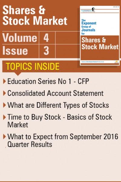 Shares & Stock Market – Volume 4 – Issue 3