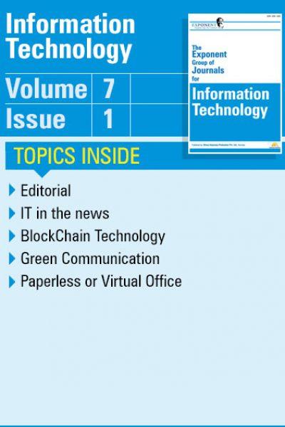 Information Technology – Volume 7 – Issue 1
